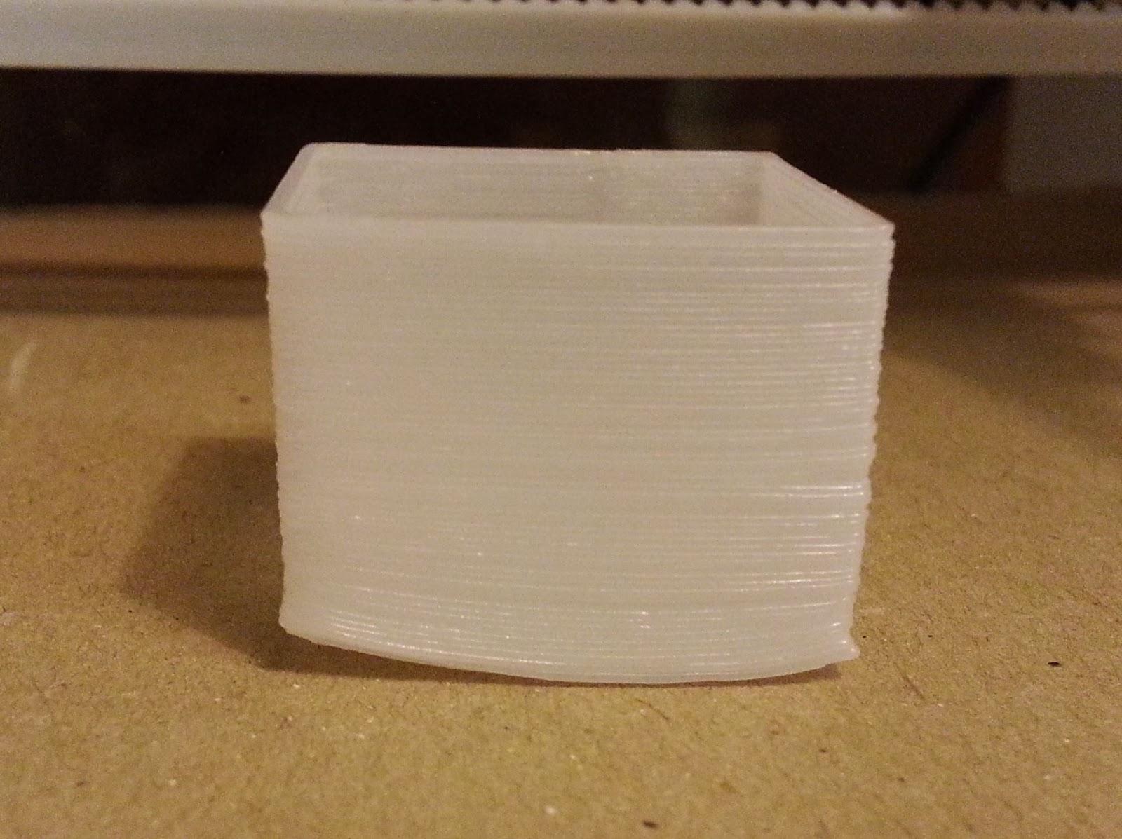 3D Druck mit Warping