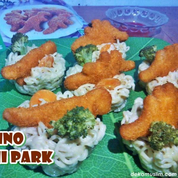 Dino Mie-ni Park, Menu Buka Puasa Seru untuk Anak-anak