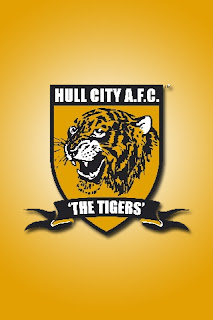 Hull City AFC - The Tigers download besplatne slike pozadine Apple iPhone