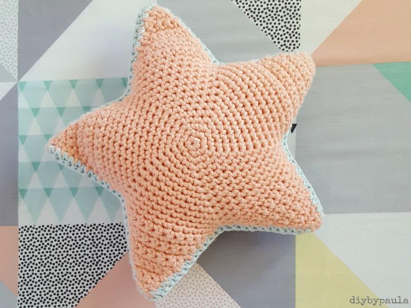 Excepcional Crochet Patrón De Estrella Abuela Composición - Manta de ...