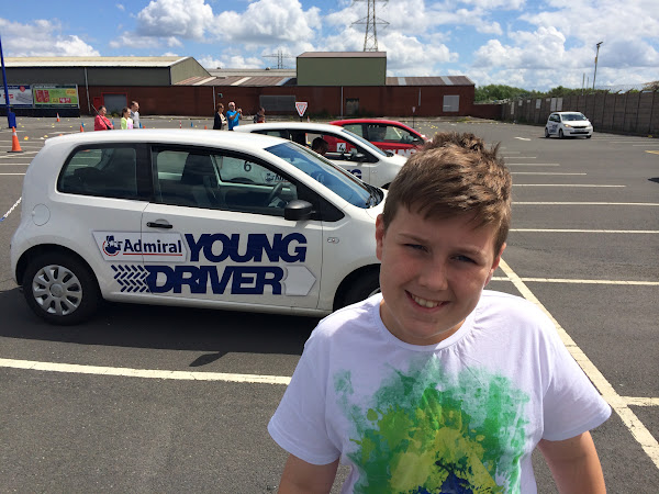 Big J is now a Young Driver At Just 12 Years Old