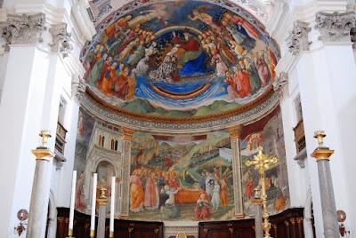 cycle de fresques de Filippo Lippi sur la Vie de la Vierge
