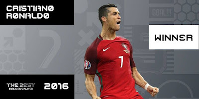 CR7 ganador The Besto 2016