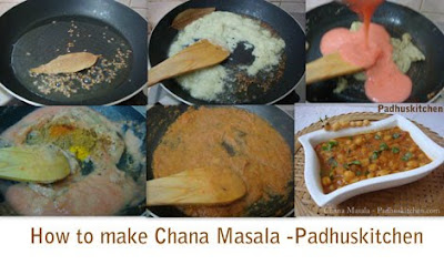 How to prepare channa masala-Chole masala