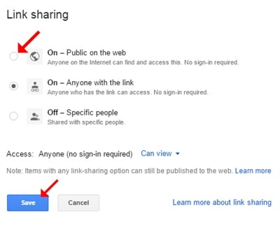 google Drive pdf Feature
