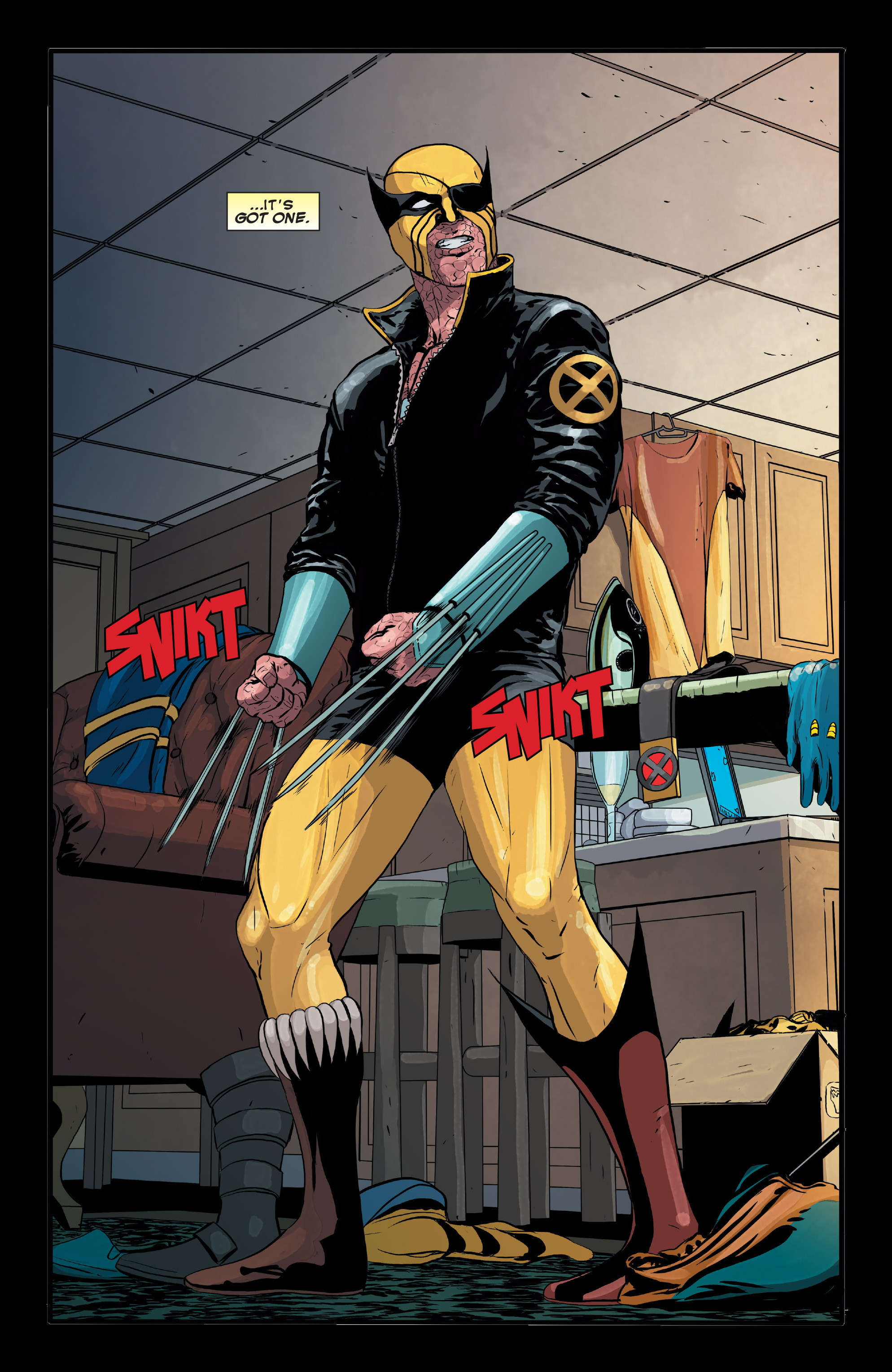 Read online Wolverines comic -  Issue #13 - 4