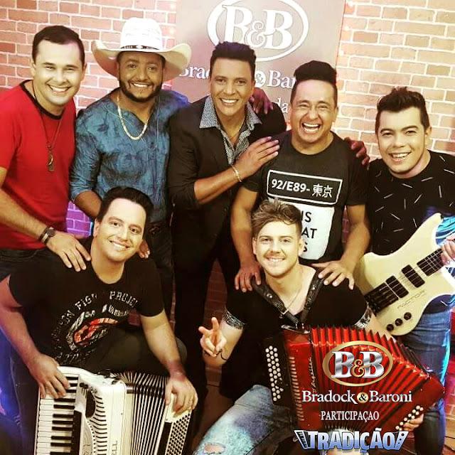 Dupla sertaneja Bradock e Baroni de Itanhaém grava CD em Campo Grande MS