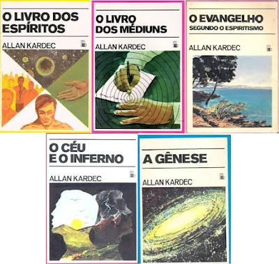 Livros da Codificação no Blog EspiritualMente