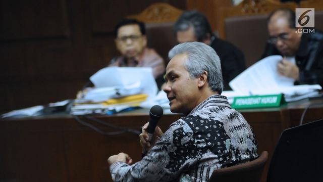 Giliran Ganjar Pranowo Sebut Nama Menkumham Yasona Laoly Terkait e-KTP