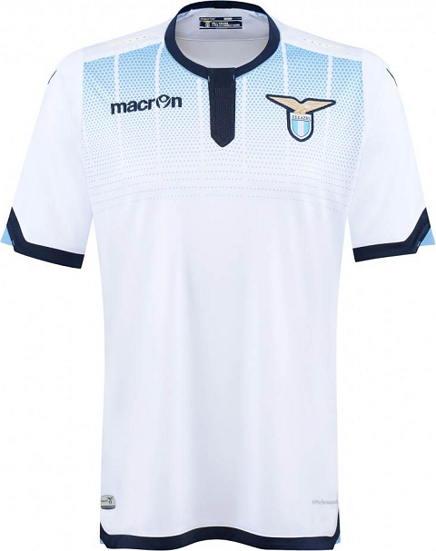 137f145d394 The new SS Lazio 2015-2016 Europa Jersey introduces a stealth look for the  Italian club. The new Lazio 15-16 Europa League Kit combines the  understated ...