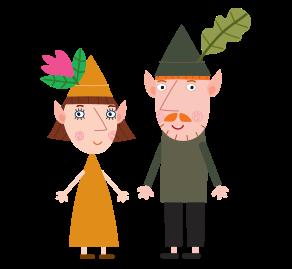El pequeño reino de Ben y Holly para imprimir