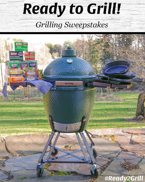 Cabot is having the ultimate grilling contest where you can enter once for a chance to win a LARGE Big Green Egg, complete with accessories and a years worth of their delicious cheese!