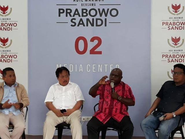 Natalius Pigai: Dulu Saya Membenci Prabowo