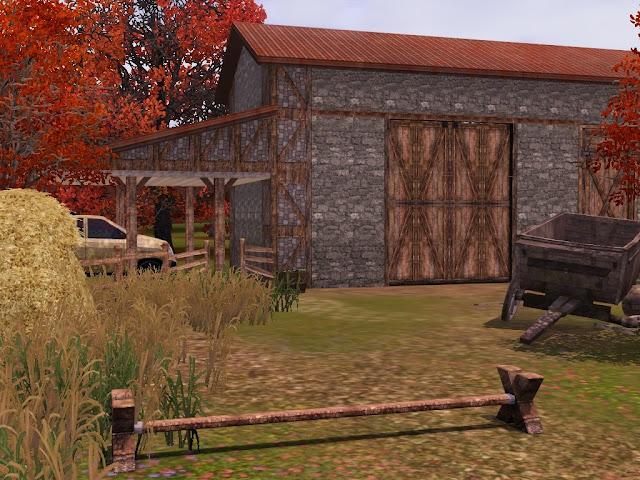Corps de ferme Sims 3