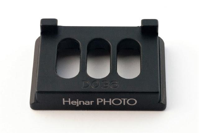 Hejnar Photo D036 Plate for SONY a6nnn top side