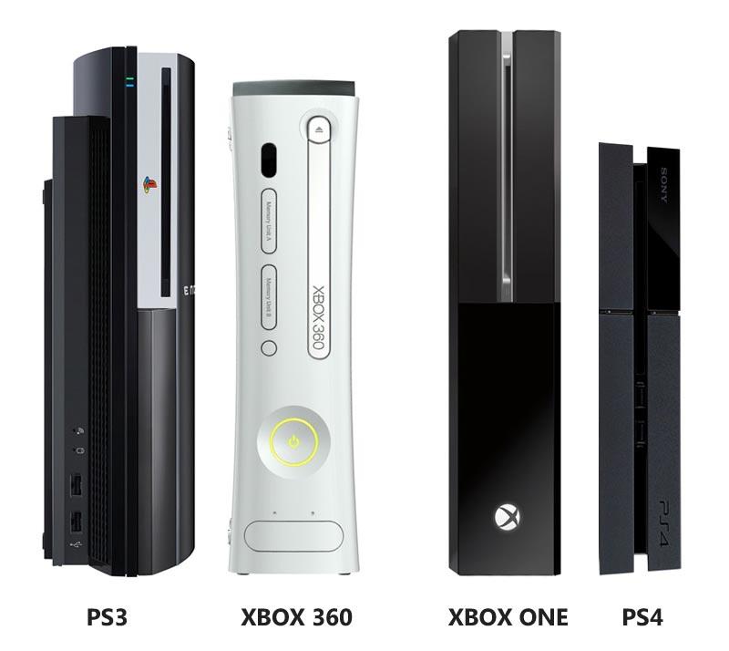 PS4 vs. Xbox One Console Size Comparison - GamingReality Xbox One Vs Ps4 Comparison
