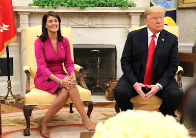 Embaixadora dos EUA na ONU pede demissão