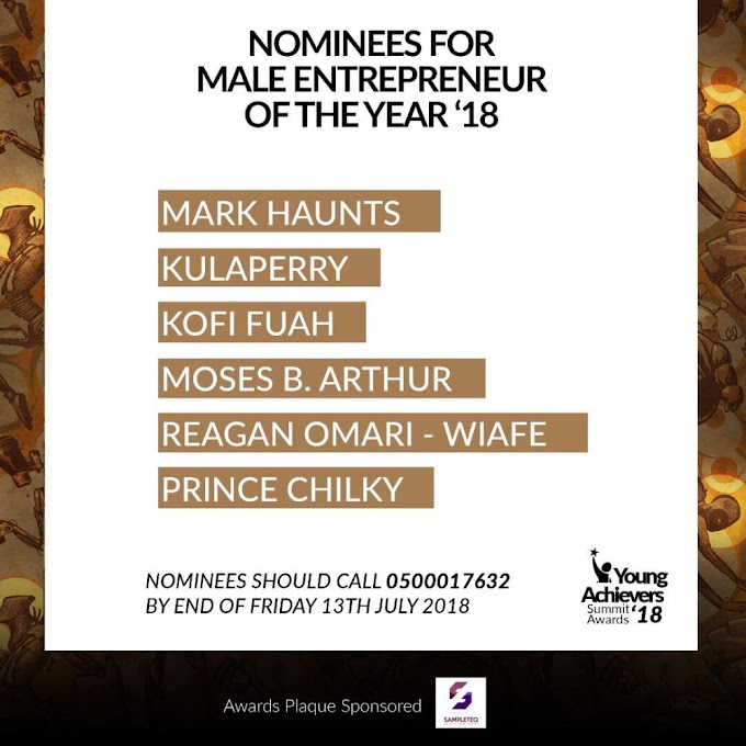 2018 Young Achievers And Summit Awards announces nominees