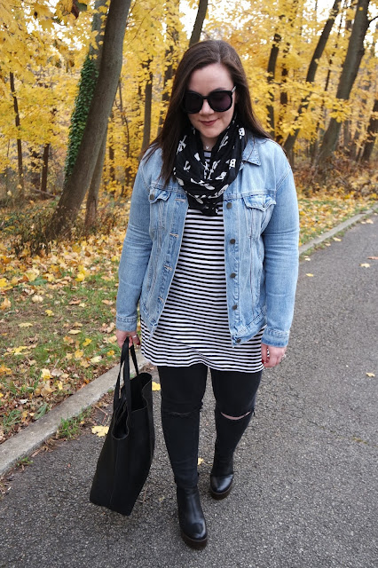 Sequins and Skulls: Stripes & Skulls