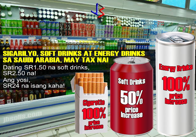 "Prices of cigarettes and energy drinks have doubled with the implementation of an excise tax that became effective midnight Saturday in a measure unprecedented in the Kingdom.  The excise tax, commonly known as a ""sin tax,"" is imposed on ""unhealthy products"" that are likely to cause health problems and eventually increase medical expenses paid by individuals or the government, according to the General Authority of Zakat and Tax (GAZT) official website.  Items that are now taxed include: cigarettes and cigar products, energy drinks and softdrinks. It is unclear if other sugary beverages are included since some shops still sell these at normal prices.  A few days prior to the implementation, some smokers struggled to find boxes of their usual cigarettes. Consumers attempted to stock up on cigarettes at their pre-tax price, while suppliers were trying to keep the products off the shelves until the prices rose.  At one of the main supermarkets in Jeddah, a shelf stacker said ""There was nothing here yesterday,"" pointing at the shelf. ""Yesterday, the price was normal. But today, a soft drink can is SR2.25 ($0.60).""  Some supermarkets had also kept the newly taxed drinks away from customers so they are sold 50 percent higher in price in the case of soft drinks, and double the price for energy drinks.  Consumers will now pay SR12 at one supermarket for a 250ml can of a popular taurine drink, which is priced at SR11.90 at another supermarket. Aside from tags of doubled priced energy drinks, a new sign has been posted on market shelves stating: ""Energy drinks harmful to health."" The full warning matches the text on beverage cans. This is part of the new move to curb consumption of sugary and energy drinks in the kingdom.  The tax authority urged producers and suppliers of taxable goods to register for the excise tax, the GAZT official website stated. The taxing body expects to lower consumption by people with limited income of the taxed products after the price hike.  Officials of Saudi General Authority of Zakat and Tax, the entity responsible for collecting VAT and excise tax, have told local media that they expect excise tax revenues of $1.87 billion (SR7bn) in just six months.  A regular smoker and energy-drinks lover from Jeddah said the move would not make her quit. ""It's an extra strain on the pocket, but it's a habit that I can't just quit or cut down on,"" she said.  She bought her last pack of the cigarettes she smokes for SR12 one day before the tax into effect. Now it is SR24. Gulf Cooperation Council (GCC) countries are also set to implement a value-added tax (VAT) of 5 percent on certain goods beginning in 2018.  This is just the beginning of taxation imposed on goods in the Kingdom. Starting 2018, a 5%VAT will be implemented on goods throughout the GCC - Saudi Arabia, Bahrain, Kuwait, Oman, Qatar and UAE."