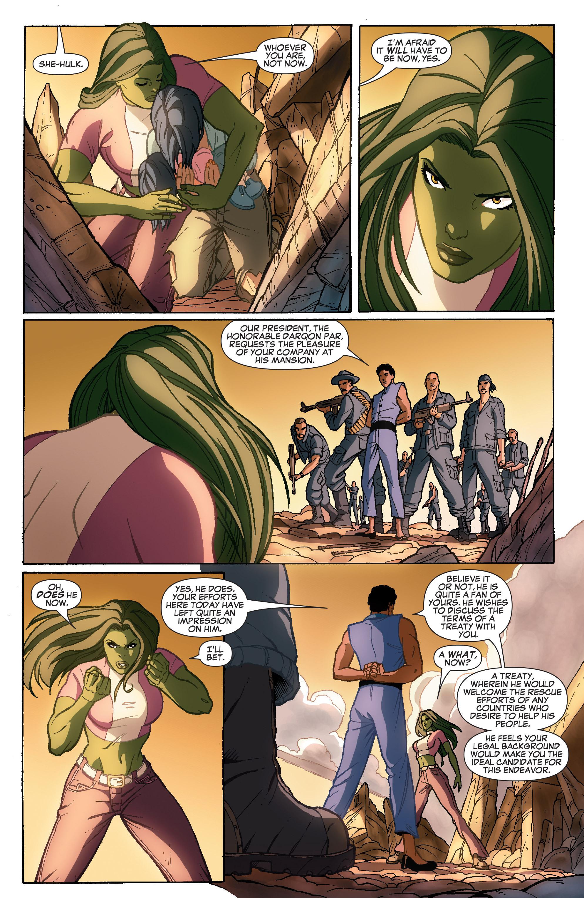 Read online She-Hulk (2005) comic -  Issue #35 - 22