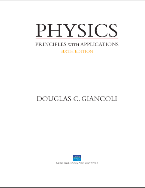 Physics For Scientists And Engineers Douglas C Giancoli Pdf