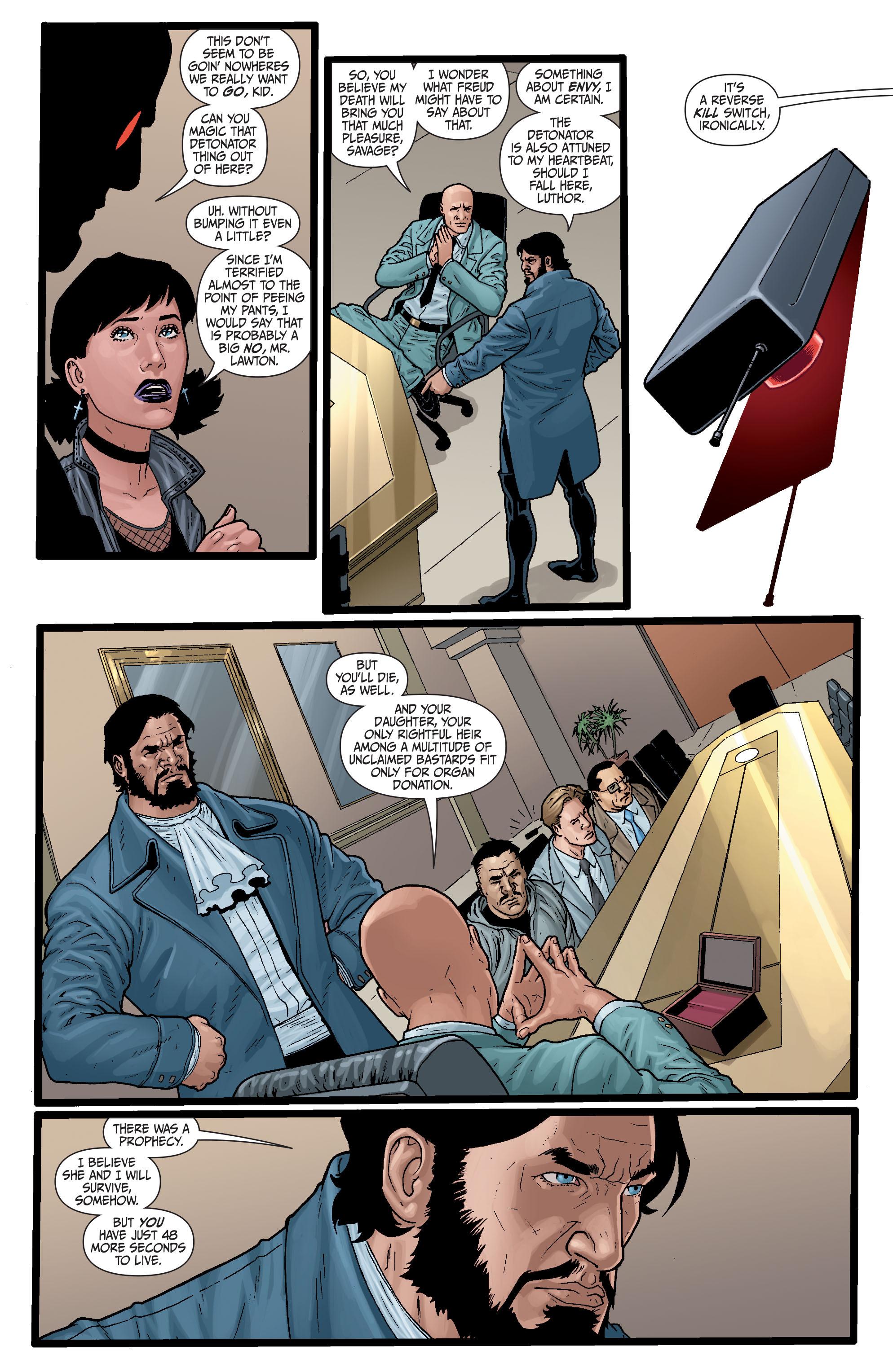 Read online Secret Six (2008) comic -  Issue #29 - 6