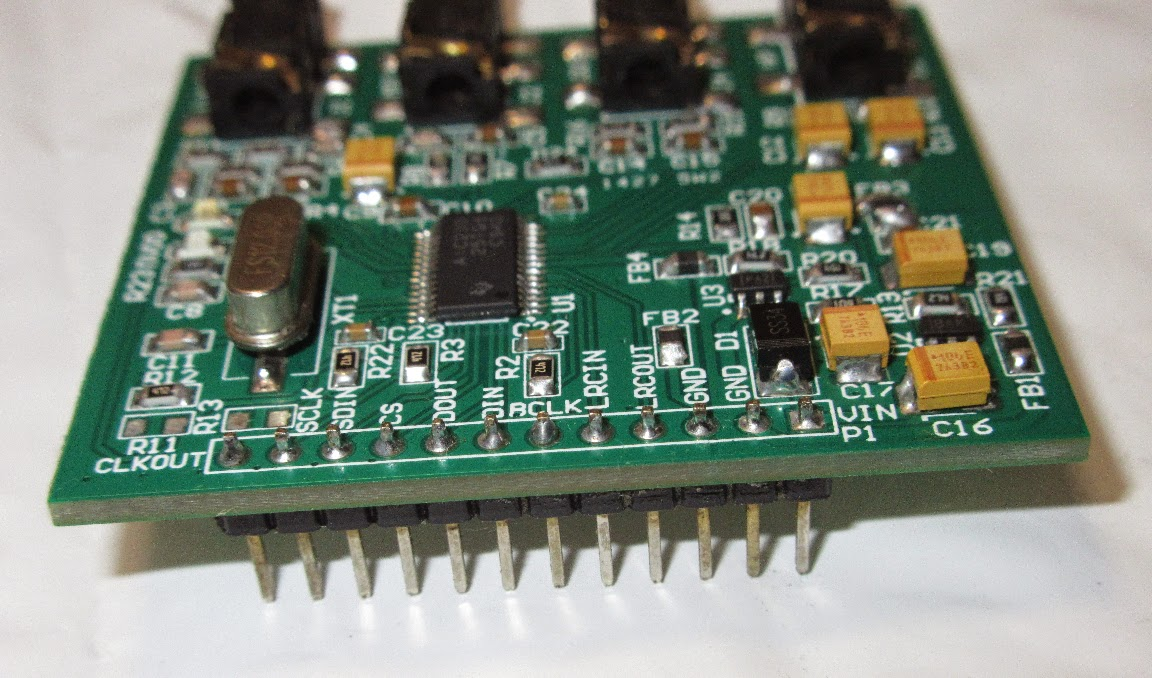 TLV320AIC23B Audio Codec Breakout Board 12