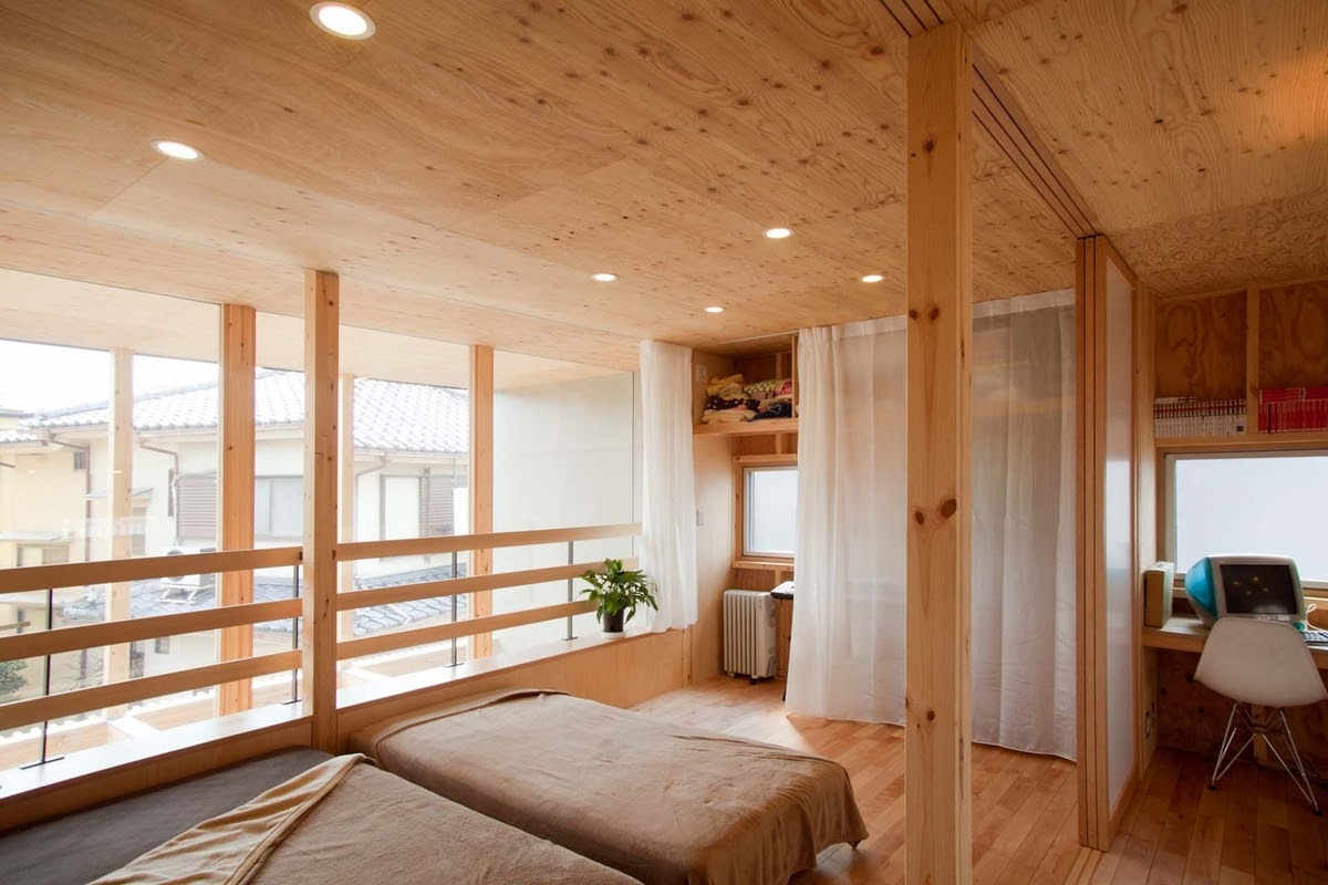 16-Second-Bedroom-Mizuishi-Architects-Atelier-Light-and-Airy-House-in-Japanese-Architecture-www-designstack-co