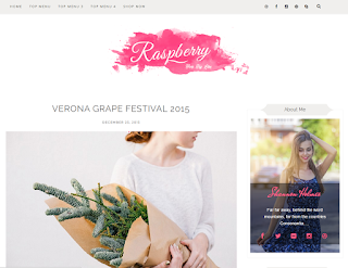 Raspberry Light Blogger Template