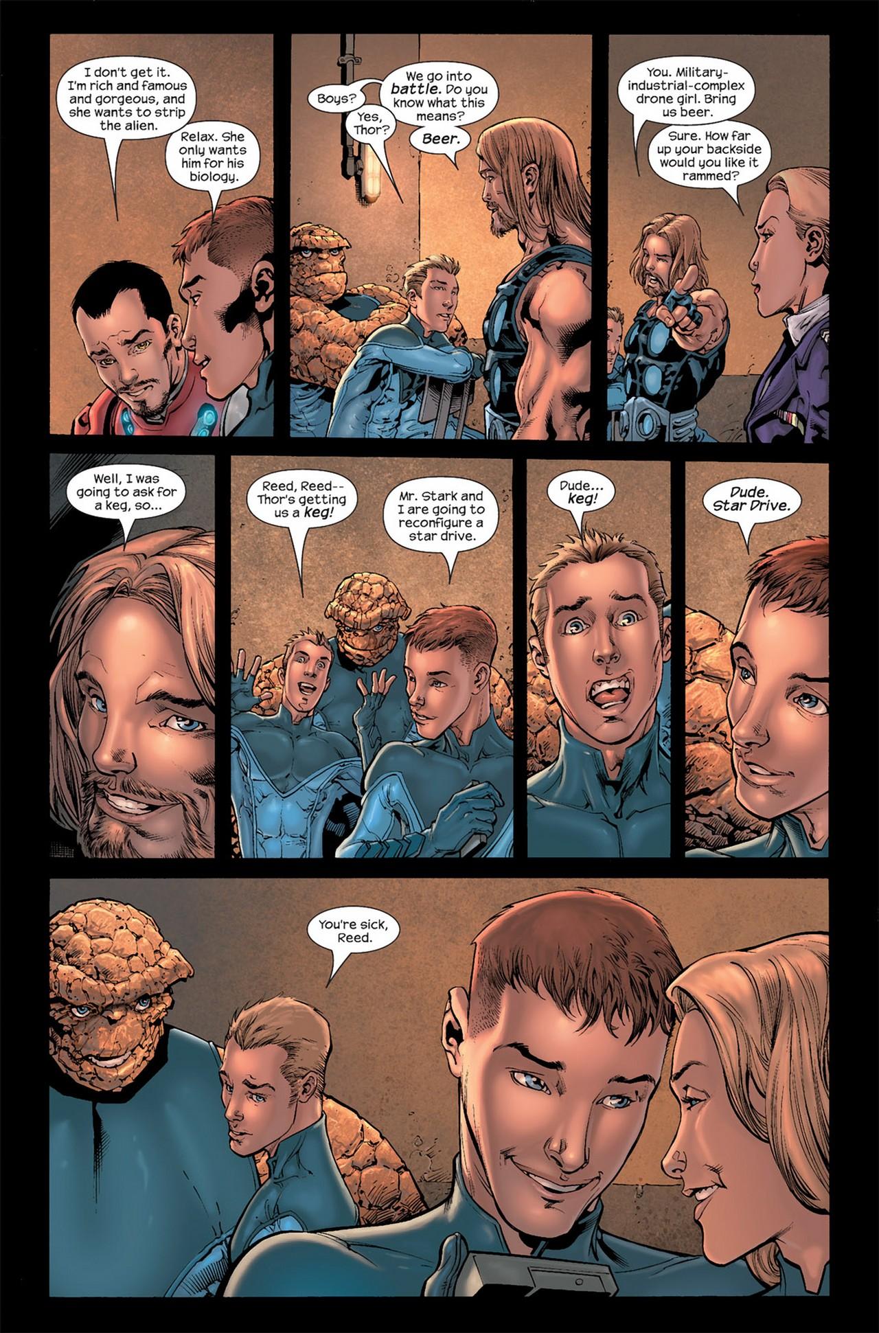 Read online Ultimate Secret comic -  Issue #3 - 10