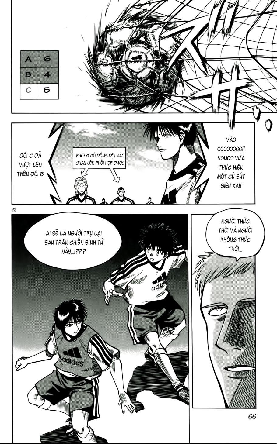 Fantasista chap 47 trang 22