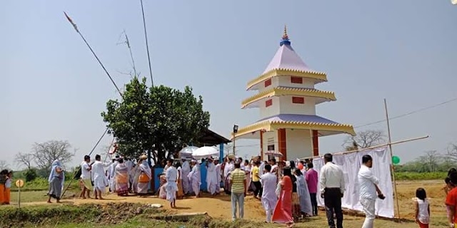 Ereima Lairembi Temple inaugurated in Lakhipur, Cachar
