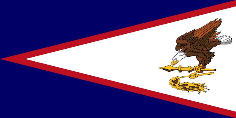 Logo Gambar Bendera Negara Samoa Amerika PNG JPG ukuran 800 px