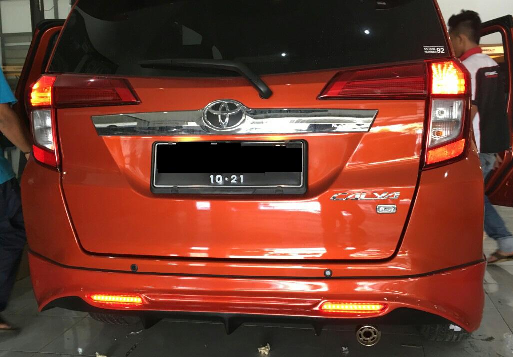 Lampu Reflektor Grand New Avanza Warna Interior Bodykit Plastik Toyota Calya | Solo Abs Plastic