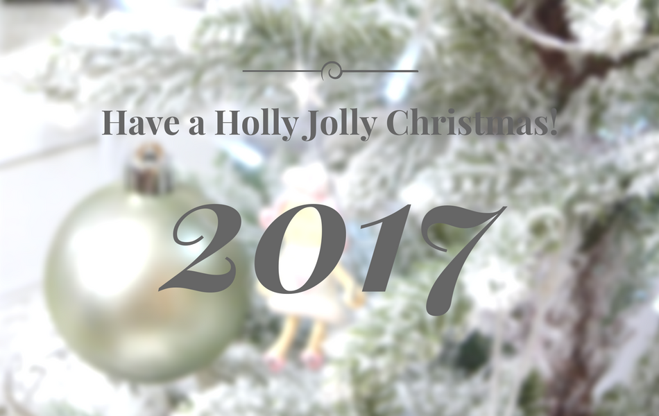an image of have a holly jolly Christmas 2017