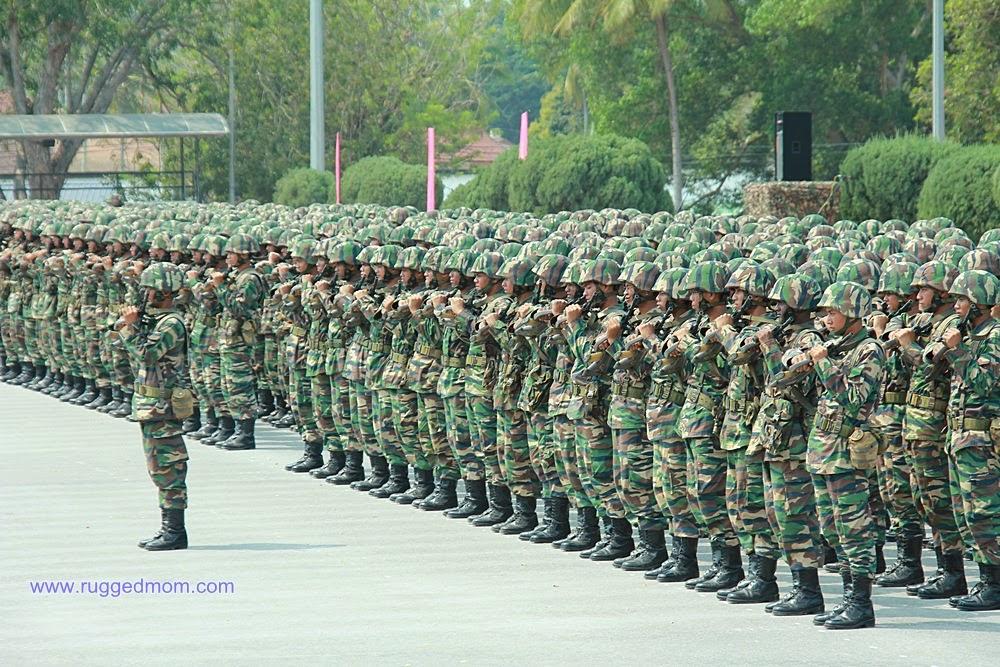 Berkawad Di Bandar Tentera Darat Port Dickson