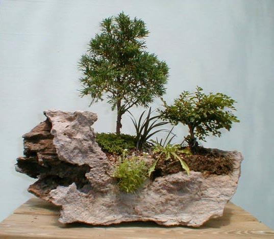 Boiserie c karesansui giardini di roccia giapponesi - Giardino zen in miniatura ...