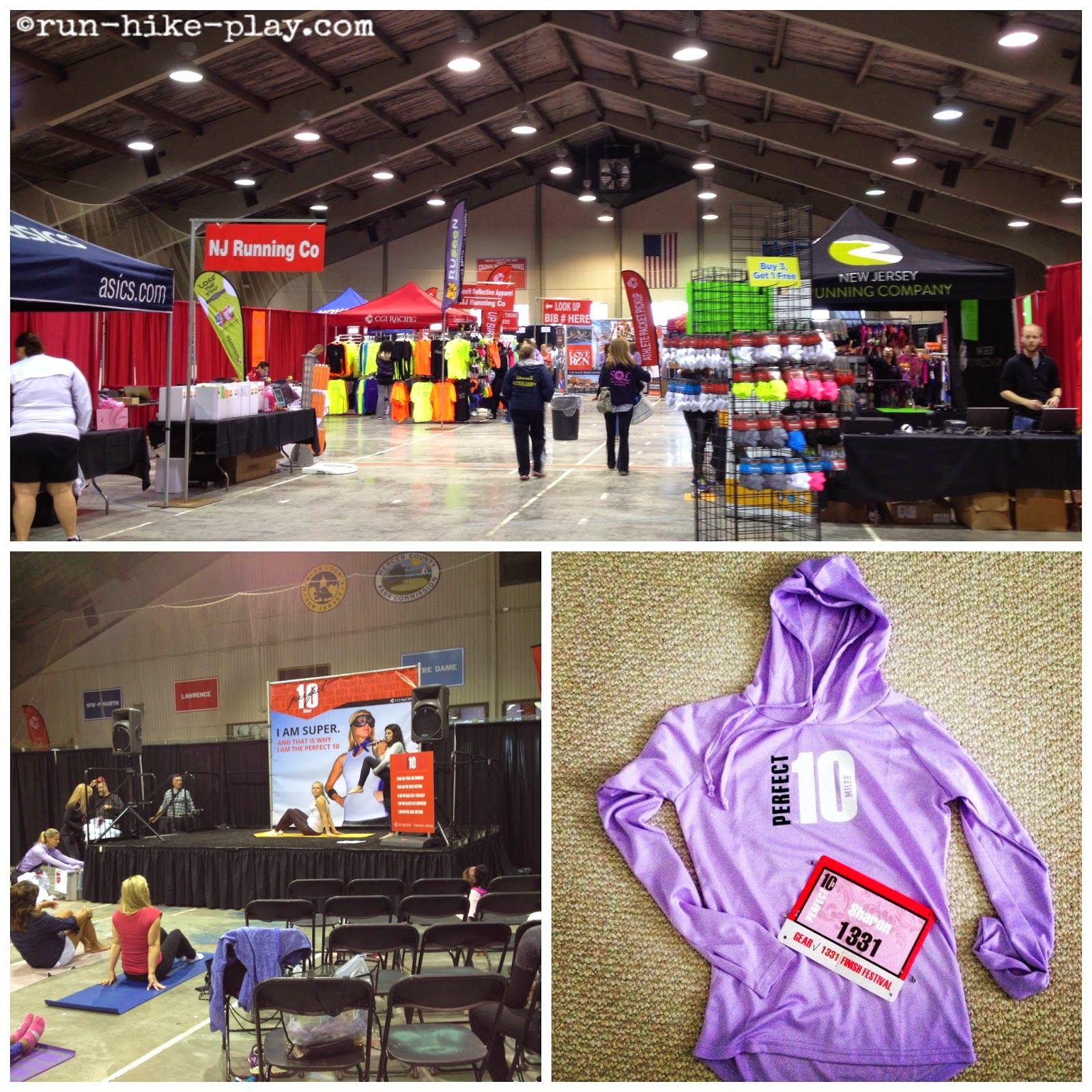 Perfect 10 Miler Race Expo