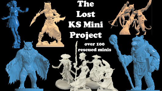 Kickstarter - Impact! Miniatures Presents: The Lost KS Mini Project