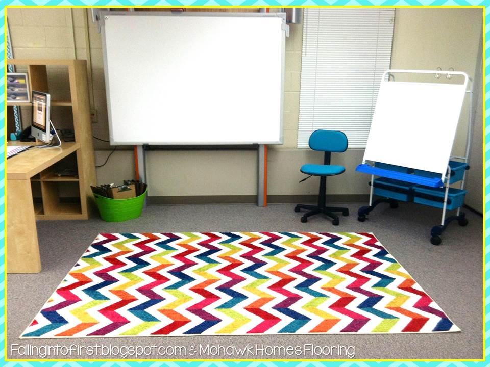 Falling Into First Cozy Classroom Rug Giveaway
