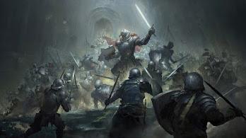 Fantasy, Warrior, Epic, Battle, 4K, #4.3103