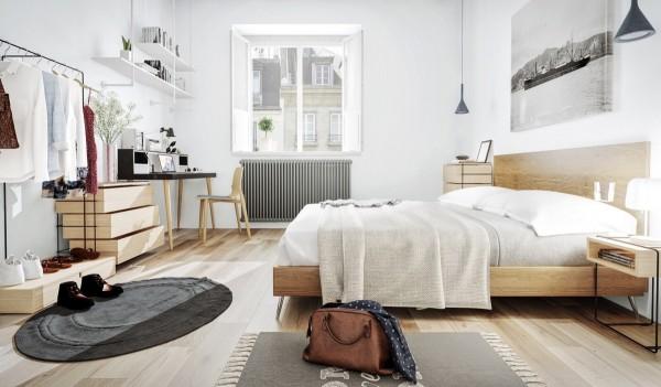 Thiết kế nội thất phòng ngủ và những vị trí cần tránh khi trang trí