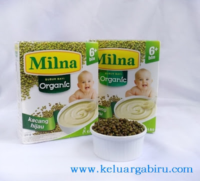 Milna Bubur Bayi Organik 2017