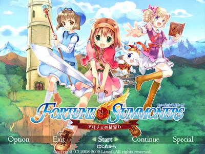 命運召喚爾茄的精靈石(Fortune Summoners ~Arche no Seireiseki),三個少女的冒險故事!