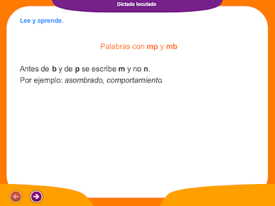 http://ceiploreto.es/sugerencias/juegos_educativos_2/12/Dictado_palabras_mp_mb/index.html