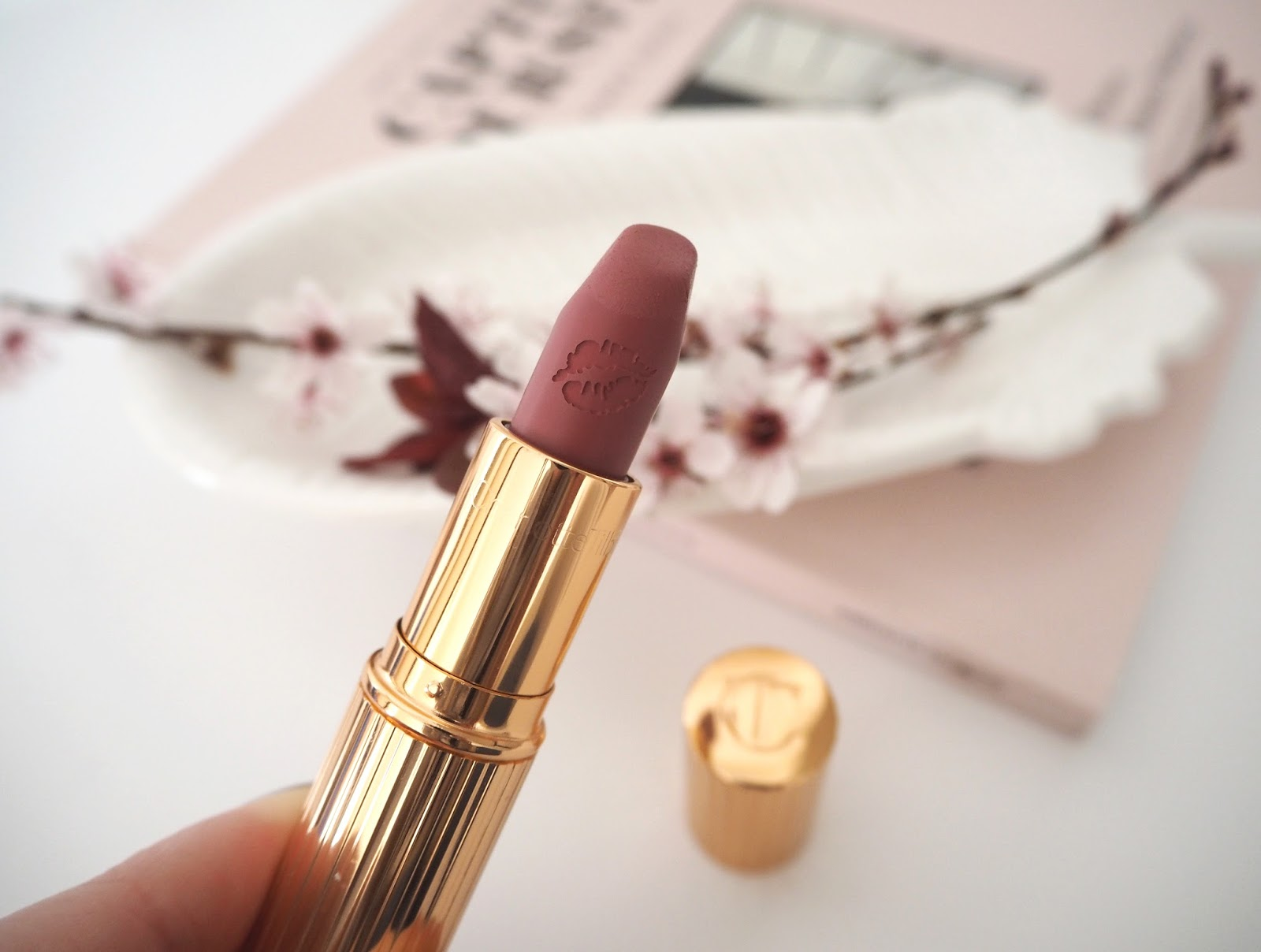 Loves List: March, Katie Kirk Loves, UK Blogger, Beauty Blogger, Lifestyle Blogger, Make Up Blogger, Skincare Blogger, Monthly Favourites, Beauty Review, Skincare Review, Charlotte Tilbury Secret Selma Lipstick, Make Up Review, Charlotte Tilbury, Make Up Swatches