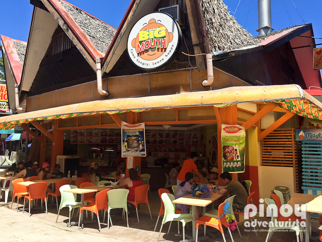 Meals for less than 100 pesos in Boracay
