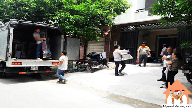 Taxi tải chuyển nhà