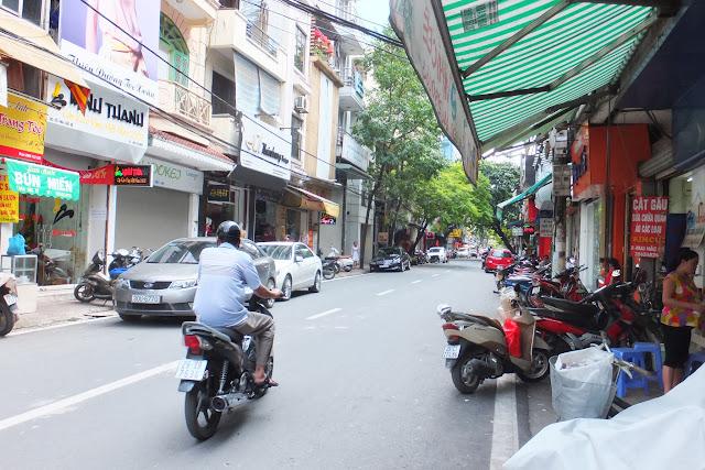 vietnam-sidewalk ベトナムの街角